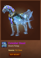Celestial Steed-Mount by MitzvahRose