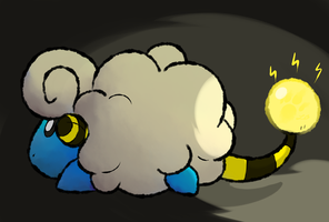 Mareep Use Flash by TheBlazingK