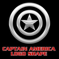 Captain America Vector Shape by Retoucher07030