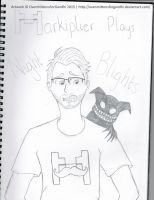 Markiplier Plays Night Blights by OvenMittensForGandhi