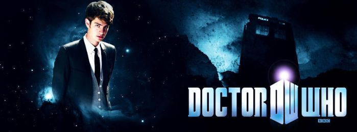 Andrew Garfield as Doctor Who Facebook Cover by Super-Fan-Wallpapers
