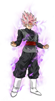 Black Goku super saiyan rose by BardockSonic