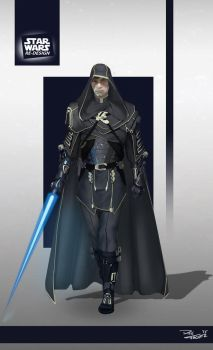 Star Wars ReDesign: Luke Skywalker by Phil-Sanchez