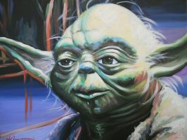 Yoda by HillaryWhiteRabbit