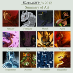 2012 Summary of Art by Rubilight