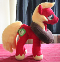 Big McIntosh Plushie by AlexGoneLoco
