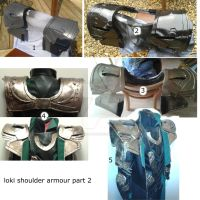Loki Shoulder Armour Part 2  by sasukeharber
