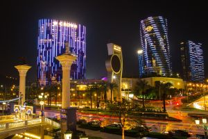 Macanese City Lights by drwhang