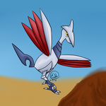 PokeCollab Gen 2: Skarmory by UmbreonGal