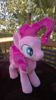 Pinkie Pie plush (sold) by Zombies8MyWaffle