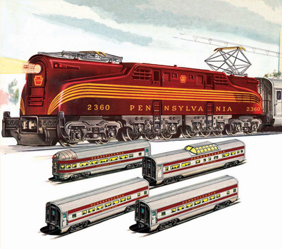 Lionel 2340 Congressional Set by mabmb1987
