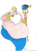 Finding King Triton's appetite! by 0beast
