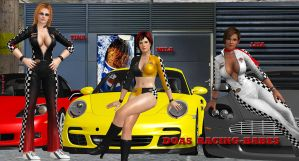 DOA5  RACING-BABES by blw7920