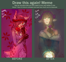 One month improvement thing i said I would do by MudZakip