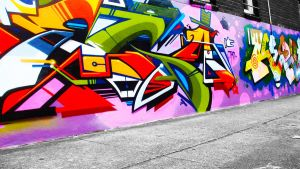 Graffiti Wallpaper 3 by alekSparx
