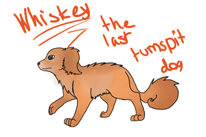 Whiskey The Last Turnspit dog by SonilverFanForever