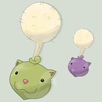 Fakemon Dandeseed by mssingno