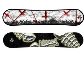 SnowBoard Designs 1 by Barnman