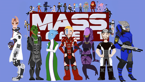 Mass Effect 2 wallpaper by KellyDawn
