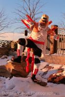 Killer Bee 10 at Katsucon 2014 by kakashi-shishio