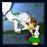 Helios and Sailor Elysion by songofamazon