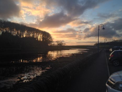 Wick River Sunset by HighlandFox