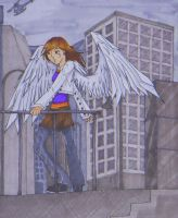 Angel in the CiTy of GrEy by KunariKun