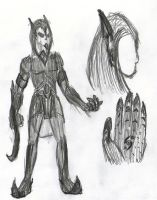 OC Concept Art: X-Con 0-1 - Transformed 5 by Jester-of-the-Clown
