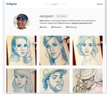 Follow Me on Instagram! by EadgeArt
