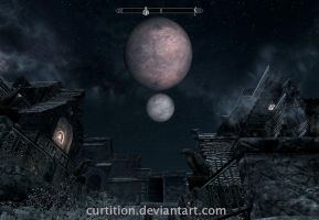 Two Moons by curtition