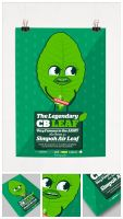 The legendary cb leaf character design by Lemongraphic