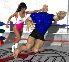 mixed wrestling 30 by cattle6