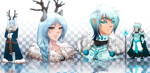 Paypal Adopts - Winter Boys [CLOSED] by LadyOgien