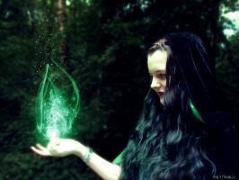 Witch of the woods by EdithSparrow