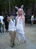MCM 2014 - Sylveon Girl With N by InsaneSpyro