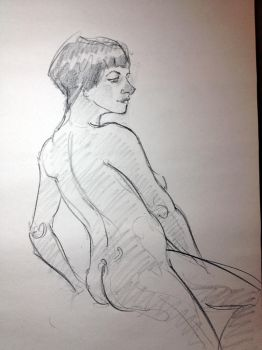 1/3/2015 - 7 minute pose (Natalie) by Dannthr