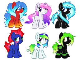 Themed Foals .::1/6 OPEN::. by Colliwooble