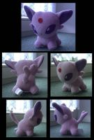 Espeon plush 2 by Ashayx