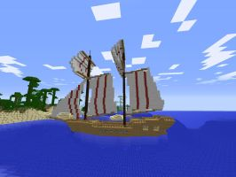 Minecraft Brig pt1 by ColtCoyote
