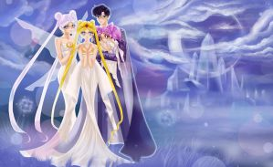 'Family' Sailor Moon Fanart. by Elianan