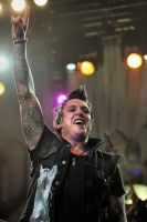 Papa Roach: Jacoby Shaddix by basseca
