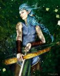 Nacridan character : Elfe archer by M0onQueen