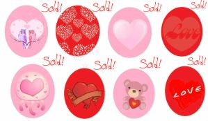 Special 8 Valentines Day Egg Hatchables! SOLD OUT! by DaisukeDarkness