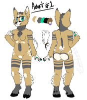Doxie adopt #1 -Julia ur a fuck for taking it  :3- by Tobicakes