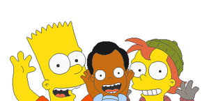 Bart, Charlie, and Gheet by KidBobobo