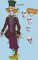 Hatter Character Sheet 1 by Erminie