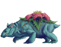 Venusaur by chicken-stalker