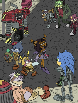 Welcome to New Vegas (Sonic/fallout crossover) by TheDarkShadow1990