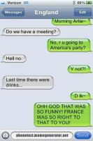 Texting England by luckygirl50