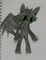 Toothless.:.Sonic Style by Xbox-DS-Gameboy